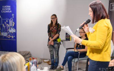 """Vékony Katának ítélték a Tudományos Ismeretterjesztő Társulat """"Girl Innovator Award"""" díját"""